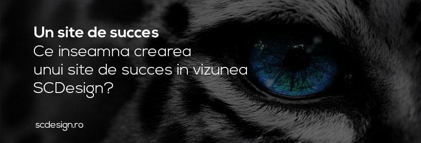 Ce inseamna crearea unui site de succes in viziunea SCDesign?