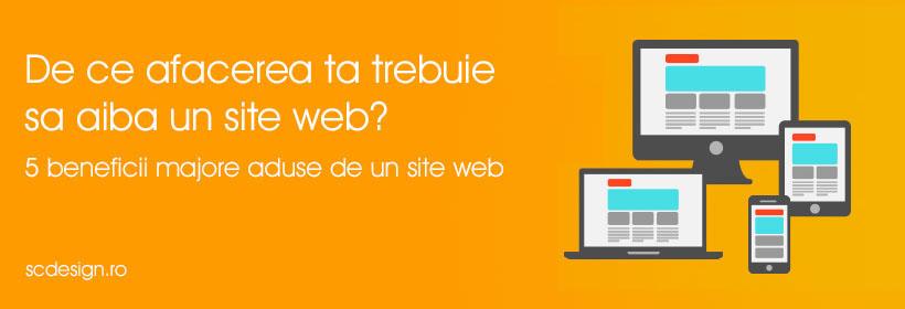De ce afacerea ta trebuie sa aiba un Site Web?